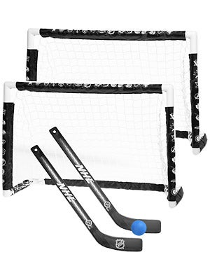 Sherwood NHL Mini PVC Hockey Goal Dual Set