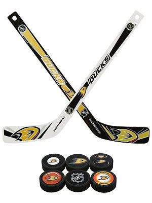 Sherwood NHL Team Plastic Mini Hockey Stick 6-Pack
