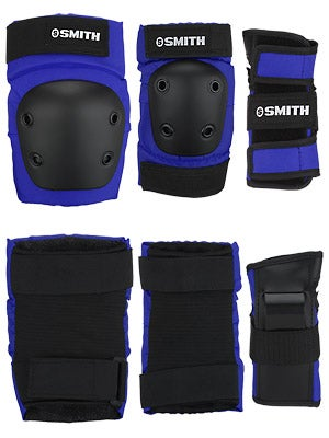 Smith Pads Youth Combo 3pk Knee Elbow Wrist