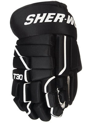 Sherwood T30 4 Roll Hockey Gloves Yth