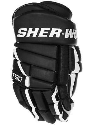 Sherwood T90 4 Roll Hockey Gloves Sr