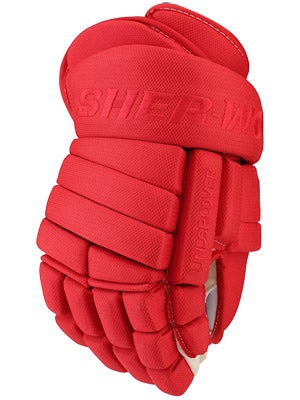 Sherwood T90 Undercover 4 Roll Hockey Gloves Sr