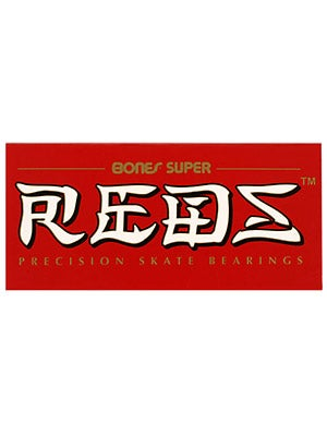 Bones Super Reds Bearings Std 608  16 Pack