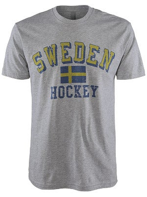 Sweden Hockey Flag Shirt Sr