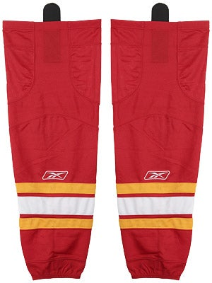 Calgary Flames Reebok Edge Hockey Socks Sr & Int