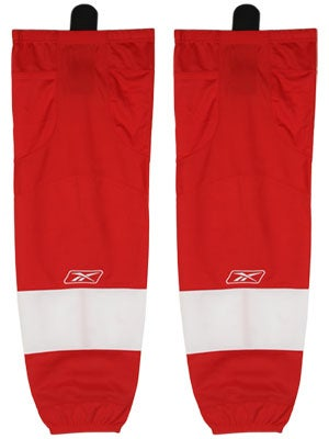Detroit Red Wings Reebok Edge Hockey Socks Jr