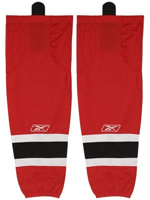 New Jersey Devils Reebok Edge Hockey Socks Jr