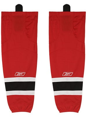 New Jersey Devils Reebok Edge Hockey Socks Sr & Int