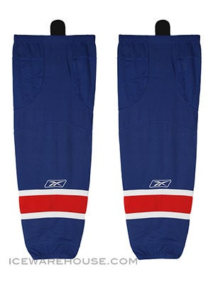 New York Rangers Reebok Edge Hockey Socks Jr