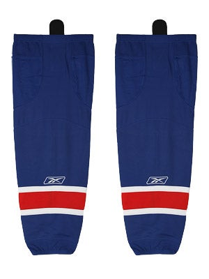 New York Rangers Reebok Edge Hockey Socks Sr & Int