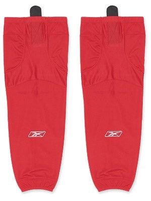 Reebok Edge SX100 Ice Socks Red Sr & Int