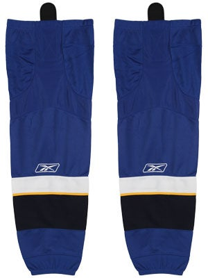 St Louis Blues Reebok Edge Hockey Socks Jr
