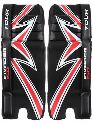 Tour Invader 150 Goalie Leg Pads Junior 27
