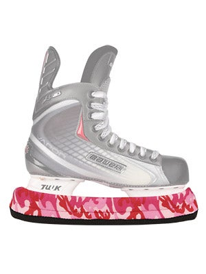 Pink Camouflage TuffTerry Soakers Hockey Blade Covers