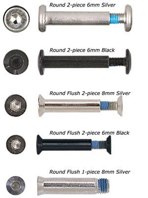Tour Hockey Wheel Axles