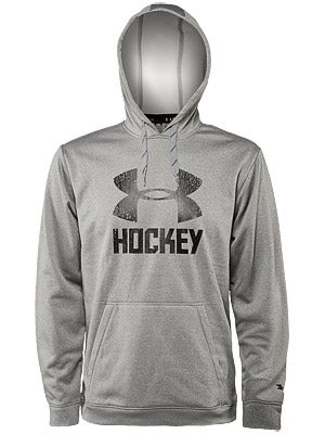 Under Armour Hockey Wordmark Storm Hoodie Sweatshirt Sr