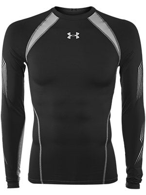 Under Armour Purestrike Comp L/S Grip Hockey Shirt Sr