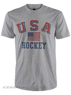 USA Hockey Flag Shirt Jr