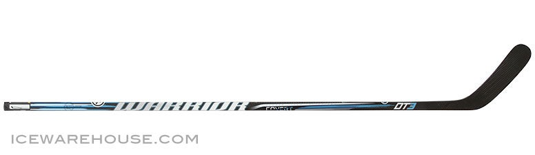 Warrior Covert DT3 Grip Hockey Stick Sr L