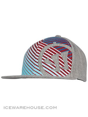 Warrior Fade Away Snapback Hats Sr