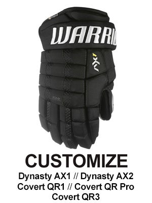 Custom Warrior Franchise Hockey Gloves