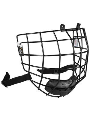 Warrior Krown Black Hockey Helmet Cages Md