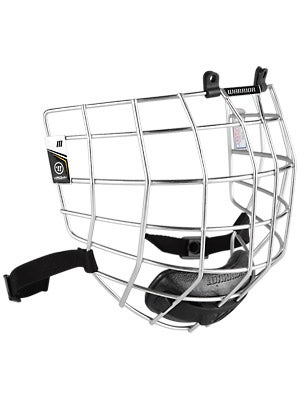 Warrior Krown Silver Hockey Helmet Cages Md
