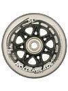 Rollerblade Wheels with SG7 Bearings 84mm 84A 8Pk