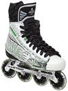Tour Fish BoneLite Pro WHITE Roller Hockey Skates Sr