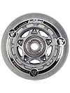 K2 Inline Wheels with ABEC5 Bearings 72mm 80A 8pk