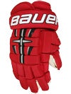 Bauer 4 Roll Pro Hockey Gloves Jr