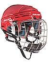 Bauer 7500 Hockey Helmets w/Cage