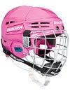 Bauer Prodigy Pink Hockey Helmet w/Cage Yth