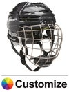 Bauer RE-AKT 100 Hockey Helmet w/Cage Custom Colors