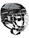 Bauer RE-AKT 100 Hockey Helmets w/Cage Yth