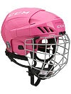 CCM FitLite FL40 Pink Hockey Helmets w/Cage