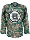 Boston Bruins Reebok NHL Camo Jerseys Sr