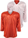 Fulton Reversible Hockey Jersey Orange/White Sr