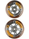 K2 Performance Wheels & Bearings HiLo 84/80mm 82A 8pk