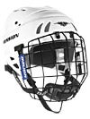 Mission M1505 Hockey Helmets w/Cage White Large