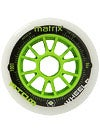 Atom Matrix Inline Road or Track Wheels 100mm Each