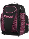 Reebok 18K Wheeled Backpack Black/Pink 26