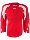 Reebok Edge Hockey Jersey Red & White Jr