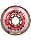 Red Star Rebel Wheel Red 64mm 74A