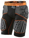 Shock Doc Ultra Shockskin Compression 5-Pad Short Sr