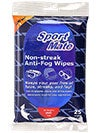 SportMate Anti Fog Wipes Pack of 25