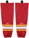 Calgary Flames Reebok Edge Hockey Socks Jr