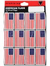 SportStar Hockey Helmet USA Flag Decal Sets