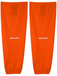 8c5cc7c6d33 Bauer 600 Mesh Hockey Socks - Orange - Ice Warehouse