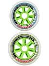 Rollerblade Hydrogen Wheels 6x110mm 2x100mm 85A 8pk
